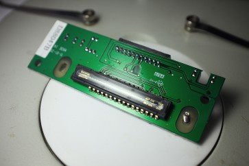 CCD sensor from flatbed scanner
