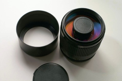 Rubinar telephoto lens