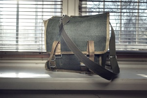 Old military butt-pack